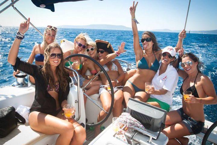 Celebraciones en Barcos