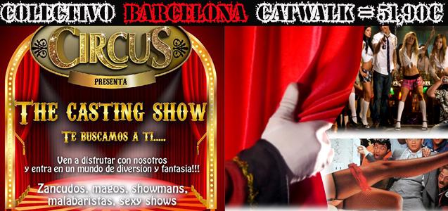 Colectivo Circus bBarcelona Catwalk