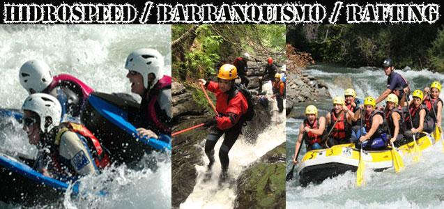 Hidrospeed Barranquismo Rafting