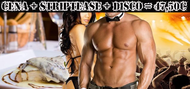 Restaurante + Striptease Privado + Discoteca