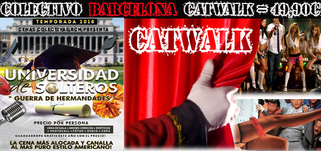 Celebració Col.lectiva Barcelona Shows Còmics Sexy Girl Sexy Boy Catwalk