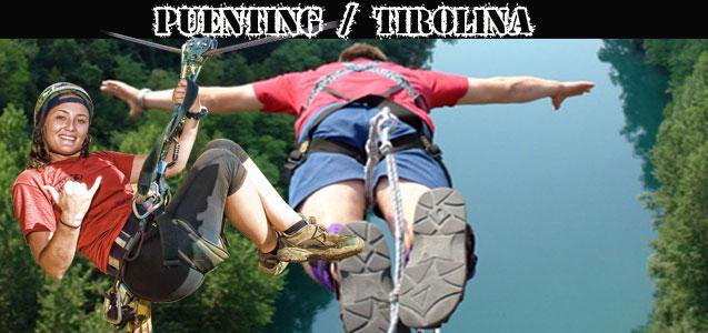 Puenting Tirolina