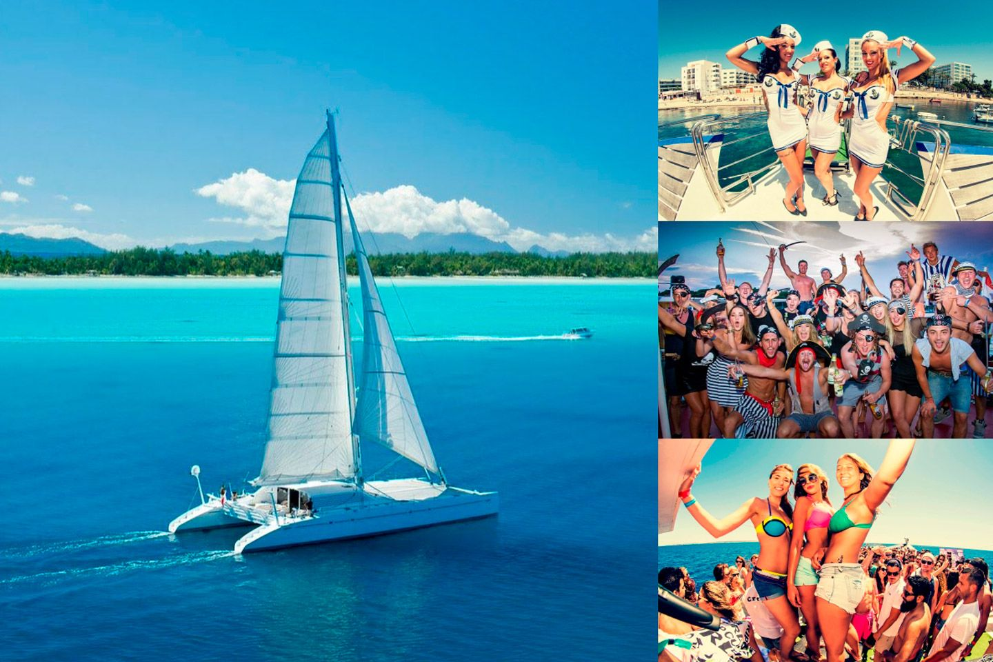 Bachelor Parties in Catamaran