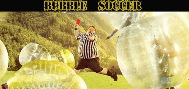 Bubble Soccer Futbol Burbuja Humor Amarillo Paintball