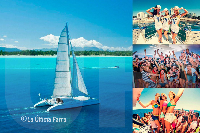 Fiestas en Barco Catamaran para despedidas