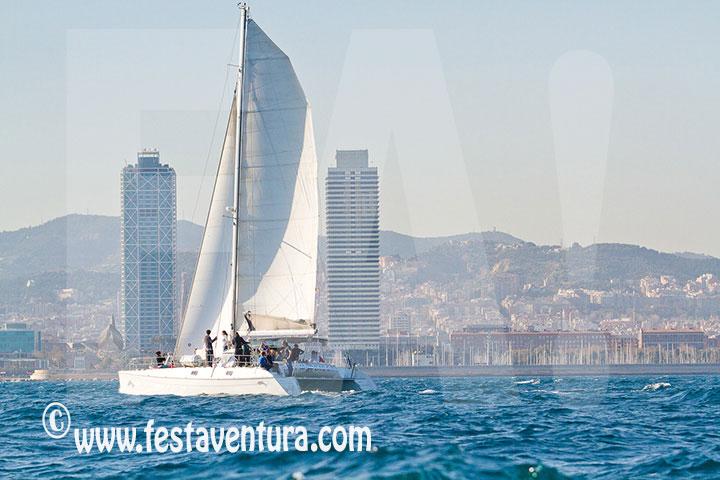 Fiestas en Barco Catamaran privado