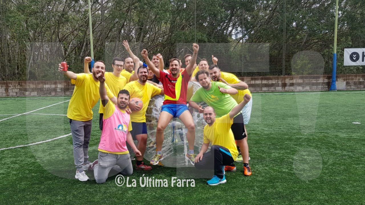 Bubble Soccer para despedidas